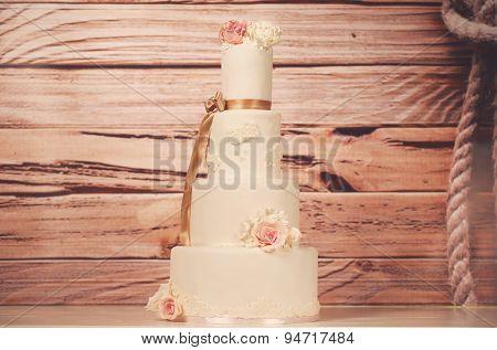 4Tier Wedding Cake