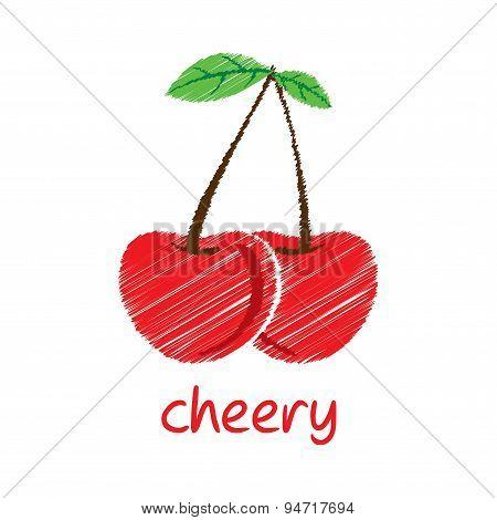cheery fruit design
