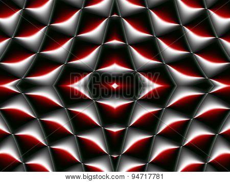 Symmetrical Fractal Pattern. Collection - Cells. Artwork For Creative Design