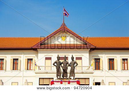 Three Kings Monument Thailand, Chiang Mai