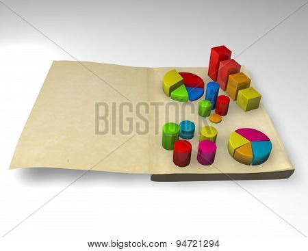 Financial Analysis, Stock, Accounting Data 3D Report