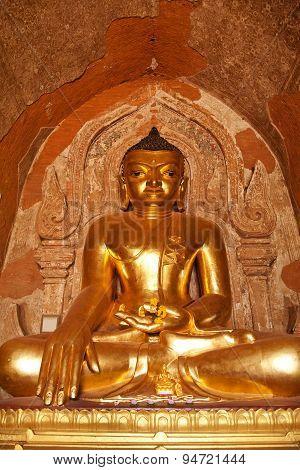 Statue Of Bhudda, Bagan, Myanmar