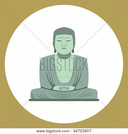 The Great Buddha Statue In Kamakura, Japan