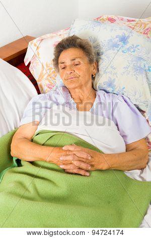 Senior Saying Prayers