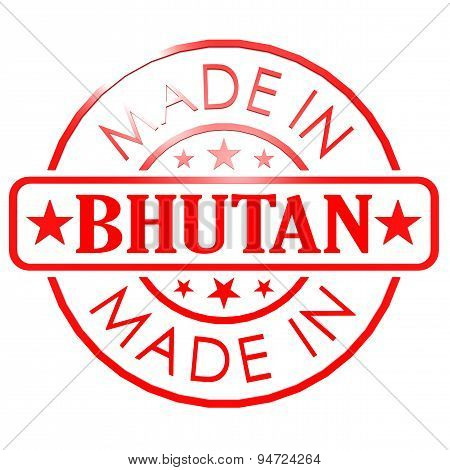 Made In Bhutan Red Seal