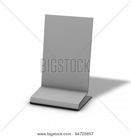 Store Display Isolated On White Background