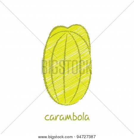 carambola fruit design