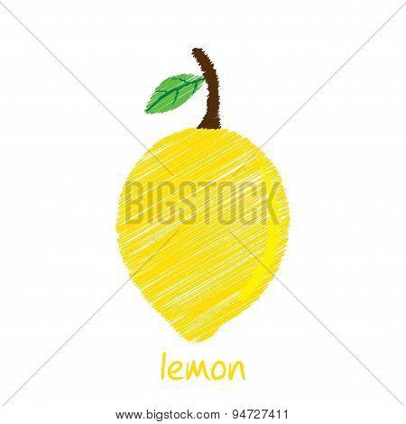 lemon fruit design