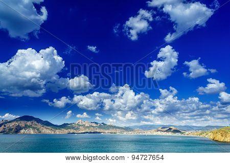 Nice Crimean Landscape In Summer.