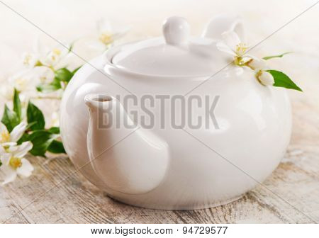 Teapot Of Jasmine Tea