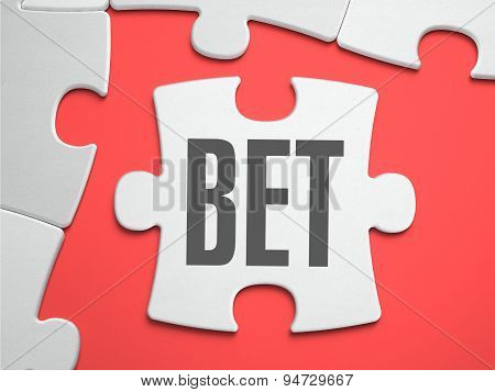 Bet - Puzzle on the Place of Missing Pieces.