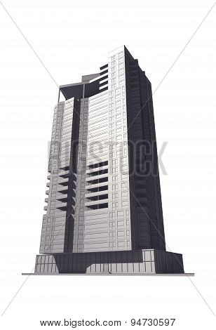 3D Multi-storey Building