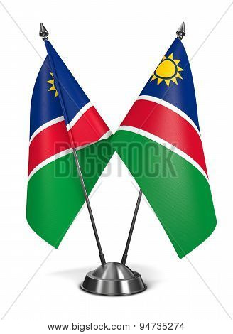 Namibia - Miniature Flags.