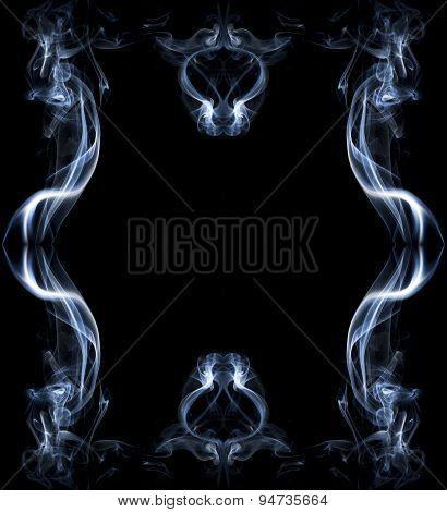 Frame Made Of Smoke