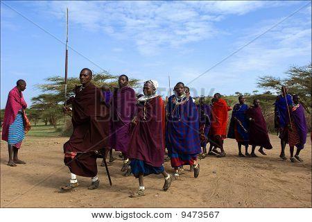 Maasai Dance.