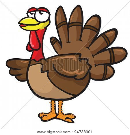 turkey cartoon illustration