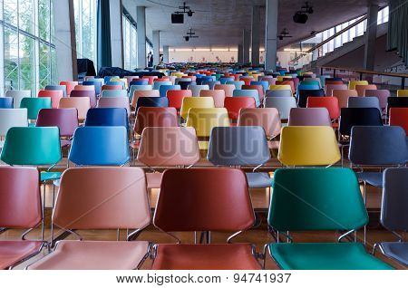 Rotterdam, Netherlands - May 9, 2015: Auditorium Of Kunsthal Museum In Museumpark, Rotterdam