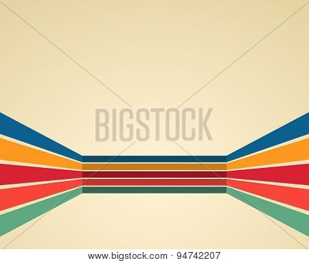 retro style vintage abstract 3d background