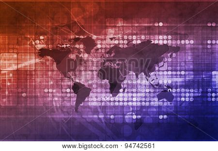 Global Business Strategy and Development as Concept background