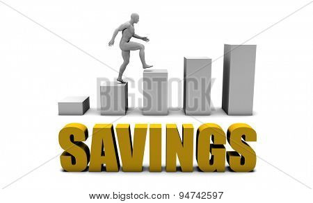 Improve Your Savings  or Business Process as Concept