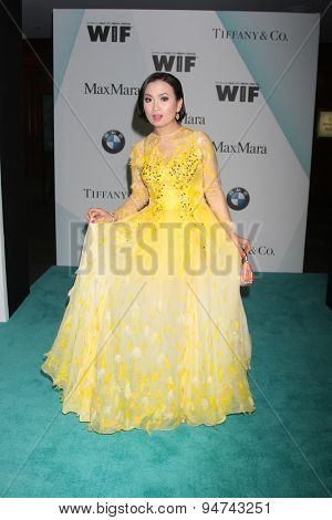 LOS ANGELES - JUN 16:  Ha Phuong at the Women In Film 2015 Crystal + Lucy Awards at the Century Plaza Hotel on June 16, 2015 in Century City, CA