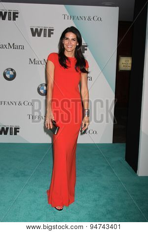 LOS ANGELES - JUN 16:  Angie Harmon at the Women In Film 2015 Crystal + Lucy Awards at the Century Plaza Hotel on June 16, 2015 in Century City, CA