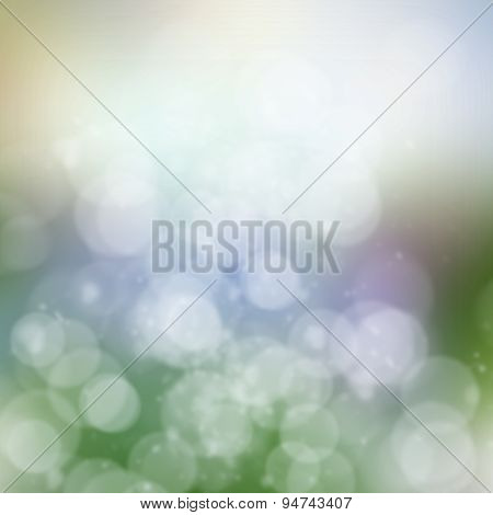 Gray, blue and green   Festive background