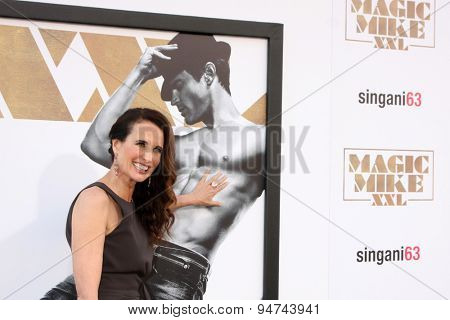 LOS ANGELES - JUN 25:  Andie MacDowell at the