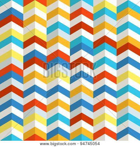 Seamless pattern of different figures. Abstract seamless colorful background