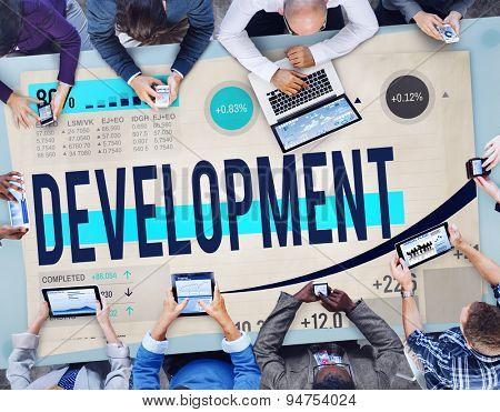 Development Goals Growth Improvement Strategy Concept