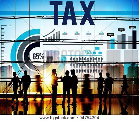 Tax Taxation Economy Income Money Financial Concept