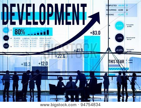 Development Goals Growth Improvement Strategy Concept
