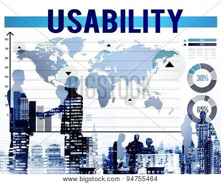 Usability Usefulness Quality Accessibility Efficiency Concept