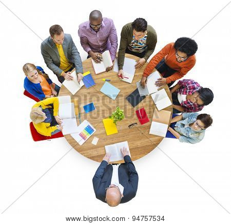 Diversity Design Team Leadership Studying Concept