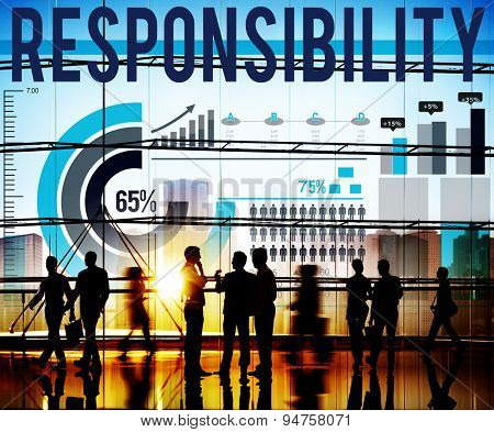 Responsibility Work Duty Trustworthy Roles Concept