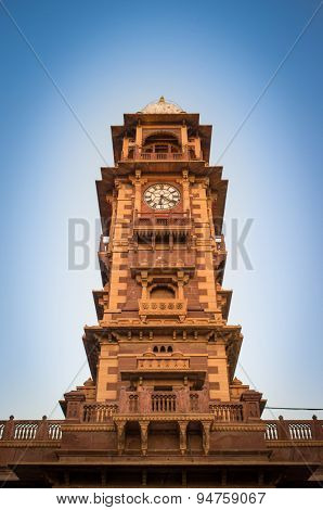 Ghanta Ghar also known as clock tower, on Sardar Market.