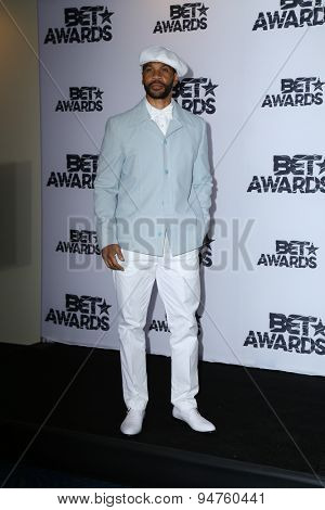 LOS ANGELES - JUN 28:  Aaron D Spears at the 2015 BET Awards - Press Room at the Microsoft Theater on June 28, 2015 in Los Angeles, CA