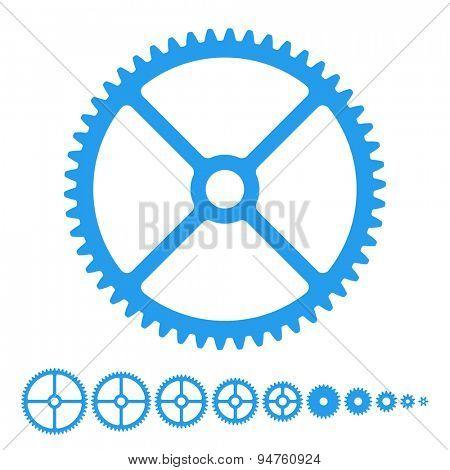 Vector set - Gears