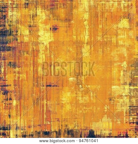 Grunge colorful background. With different color patterns: yellow (beige); brown; gray; purple (violet)
