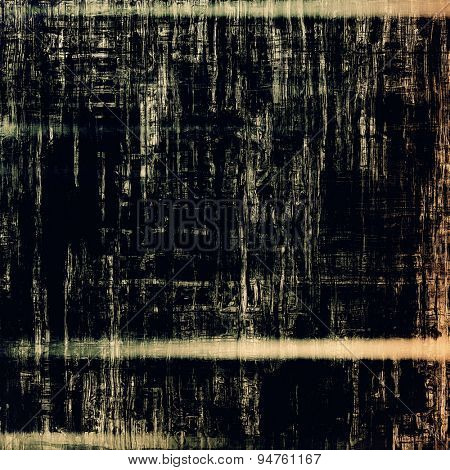 Old grunge textured background. With different color patterns: yellow (beige); brown; gray; black