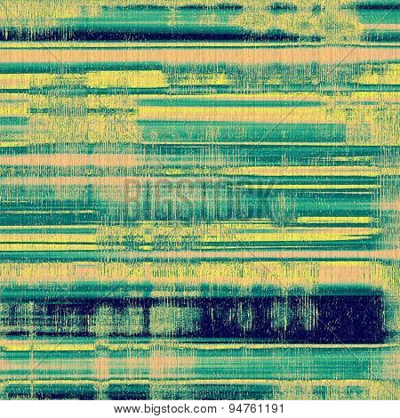 Grunge background with space for text or image. With different color patterns: yellow (beige); brown; blue; green