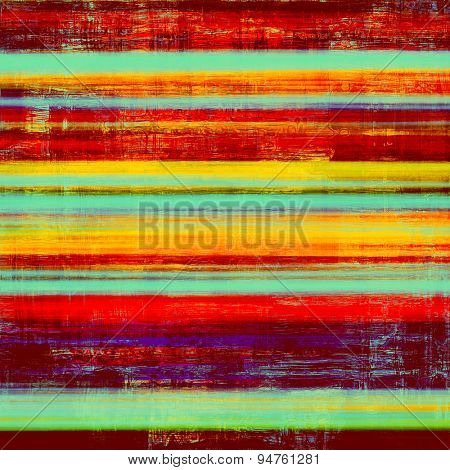 Grunge retro vintage texture, old background. With different color patterns: yellow (beige); blue; purple (violet); red (orange)