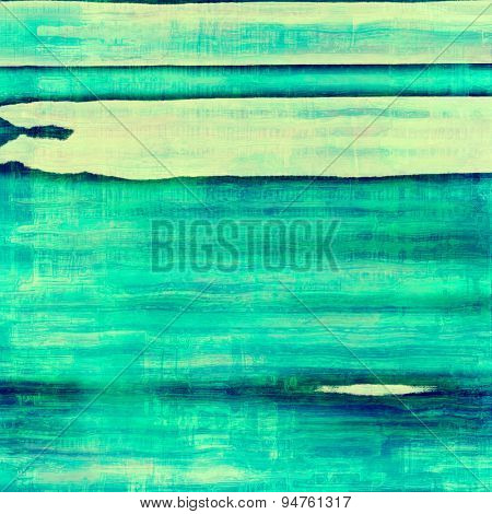 Grunge texture, distressed background. With different color patterns: yellow (beige); blue; cyan; green