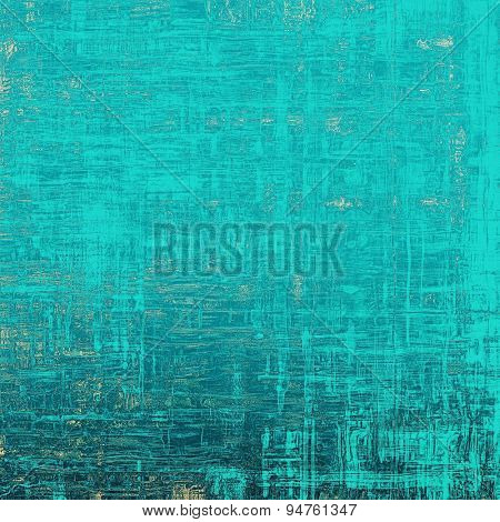 Art grunge vintage textured background. With different color patterns: yellow (beige); gray; blue; cyan