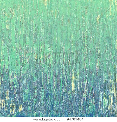 Old abstract grunge background for creative designed textures. With different color patterns: yellow (beige); blue; cyan; green