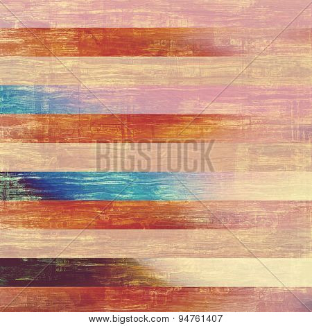 Vintage texture for background. With different color patterns: brown; blue; pink; red (orange)