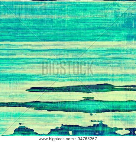 Art grunge vintage textured background. With different color patterns: yellow (beige); blue; cyan; green
