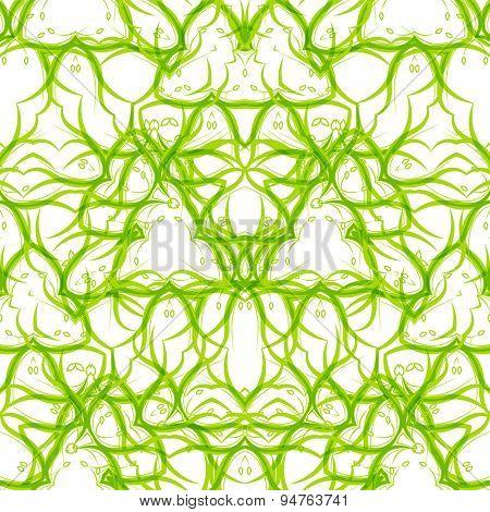 Seamless vector swirl pattern. Modern texture. Vector illustration