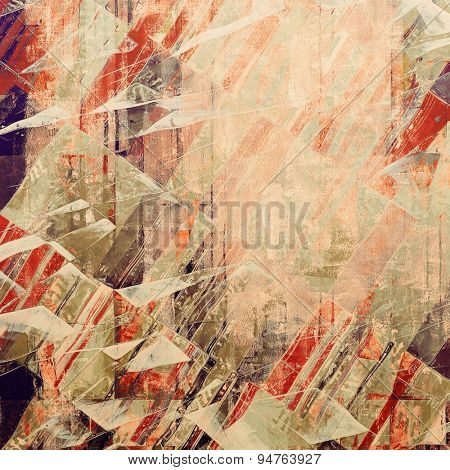 Old antique texture - perfect background with space for your text or image. With different color patterns: yellow (beige); brown; gray; red (orange)