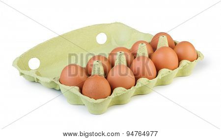 eggs in different containers